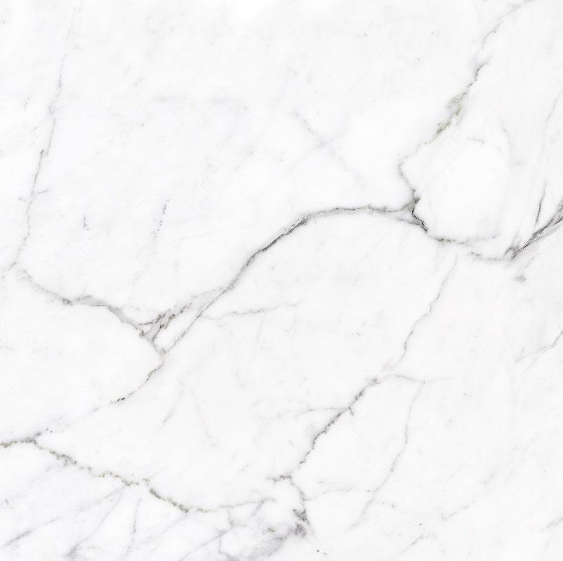 Calacatta White balts marmors