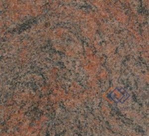 Sarkans granīts Multicolor